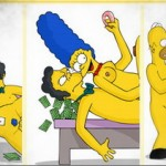 Marge as dirty slut!