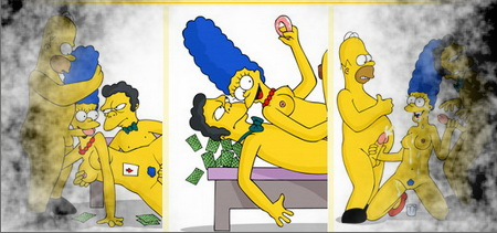 Marge - dirty slut!