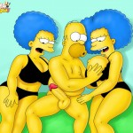 Simpsons orgy scene
